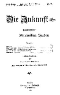 Die Zukunft, 17. Juli, Jahrg. XVII, Bd. 68, Nr 42.