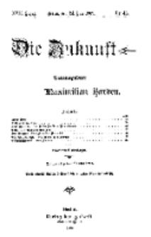 Die Zukunft, 24. Juli, Jahrg. XVII, Bd. 68, Nr 43.