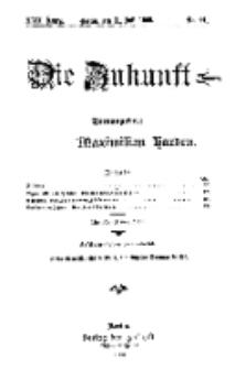Die Zukunft, 31. Juli, Jahrg. XVII, Bd. 68, Nr 44.