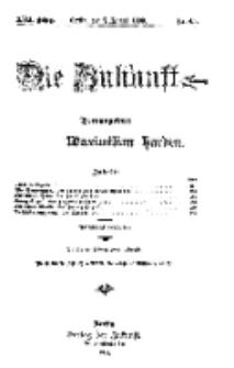 Die Zukunft, 7. August, Jahrg. XVII, Bd. 68, Nr 45.