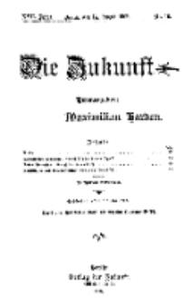 Die Zukunft, 14. August, Jahrg. XVII, Bd. 68, Nr 46.