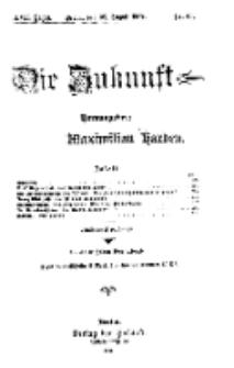 Die Zukunft, 28. August, Jahrg. XVII, Bd. 68, Nr 48.