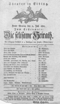 Die seltsame Heirath - Friedrich Wilhelm Ziegler