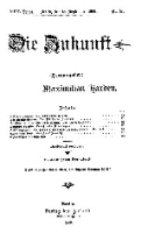 Die Zukunft, 18. September, Jahrg. XVII, Bd. 68, Nr 51.