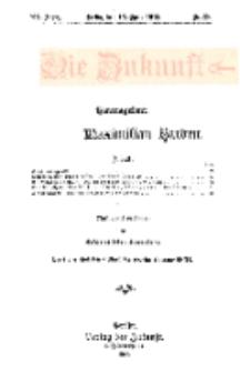 Die Zukunft, 13. April, Jahrg. XX, Bd. 79, Nr 28.