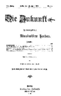 Die Zukunft, 20. April, Jahrg. XX, Bd. 79, Nr 29.