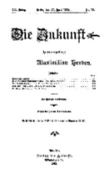 Die Zukunft, 27. April, Jahrg. XX, Bd. 79, Nr 30.