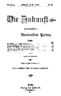 Die Zukunft, 11. Mai, Jahrg. XX, Bd. 79, Nr 32.