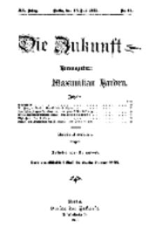 Die Zukunft, 13. Juli, Jahrg. XX, Bd. 80, Nr 41.