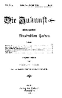 Die Zukunft, 27. Juli, Jahrg. XX, Bd. 80, Nr 43.