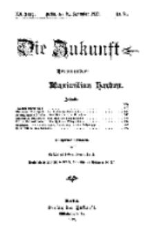 Die Zukunft, 21. September, Jahrg. XX, Bd. 80, Nr 51.