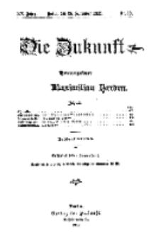 Die Zukunft, 28. September, Jahrg. XX, Bd. 80, Nr 52.