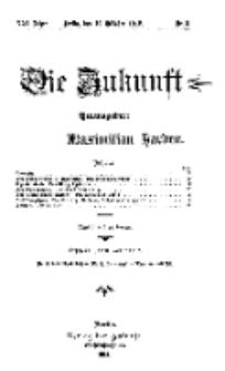 Die Zukunft, 19. Oktober, Jahrg. XXI, Bd. 81, Nr 3.