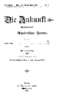 Die Zukunft, 16. November, Jahrg. XXI, Bd. 81, Nr 7.