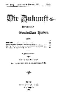 Die Zukunft, 30. November, Jahrg. XXI, Bd. 81, Nr 9.