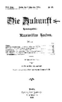 Die Zukunft, 7. Dezember, Jahrg. XXI, Bd. 81, Nr 10.