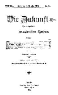 Die Zukunft, 14. Dezember, Jahrg. XXI, Bd. 81, Nr 11.