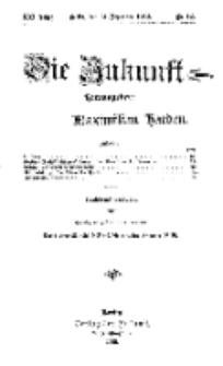 Die Zukunft, 21. Dezember, Jahrg. XXI, Bd. 81, Nr 12.