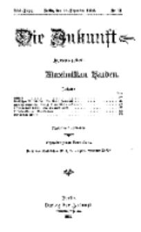 Die Zukunft, 28. Dezember, Jahrg. XXI, Bd. 81, Nr 13.