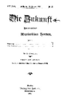 Die Zukunft, 11. Januar, Jahrg. XXI, Bd. 82, Nr 15.