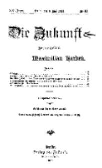 Die Zukunft, 3. Mai, Jahrg. XXI, Bd. 83, Nr 31.