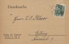 Drucksache...Klever [karta pocztowa]