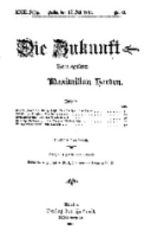 Die Zukunft, 17. Juli, Jahrg. XXIII, Bd. 92, Nr 42.