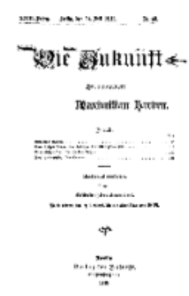 Die Zukunft, 24. Juli, Jahrg. XXIII, Bd. 92, Nr 43.