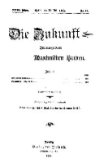 Die Zukunft, 31. Juli, Jahrg. XXIII, Bd. 92, Nr 44.