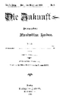 Die Zukunft, 23. Oktober, Jahrg. XXIV, Bd. 93, Nr 4.