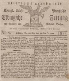 Elbingsche Zeitung, No. 9 Donnerstag, 30 Januar 1823