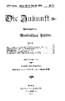 Die Zukunft, 11. Dezember, Jahrg. XXIV, Bd. 93, Nr 11.