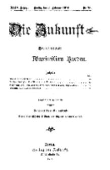 Die Zukunft, 5. Februar, Jahrg. XXIV, Bd. 94, Nr 18.