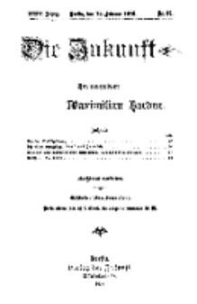 Die Zukunft, 12. Februar, Jahrg. XXIV, Bd. 94, Nr 19.