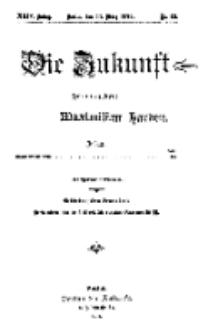 Die Zukunft, 11. März, Jahrg. XXIV, Bd. 94, Nr 23.