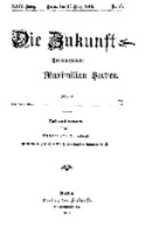 Die Zukunft, 25. März, Jahrg. XXIV, Bd. 94, Nr 25.