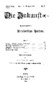 Die Zukunft, 29. April, Jahrg. XXIV, Bd. 95, Nr 30.