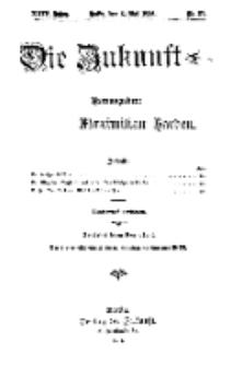 Die Zukunft, 6. Mai, Jahrg. XXIV, Bd. 95, Nr 31.