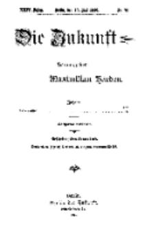 Die Zukunft, 13. Mai, Jahrg. XXIV, Bd. 95, Nr 32.