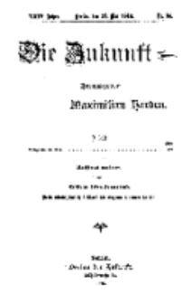Die Zukunft, 27. Mai, Jahrg. XXIV, Bd. 95, Nr 34.