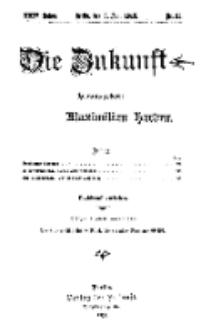 Die Zukunft, 3. Juni, Jahrg. XXIV, Bd. 95, Nr 35.