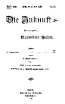 Die Zukunft, 17. Juni, Jahrg. XXIV, Bd. 95, Nr 37.