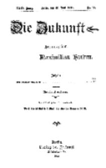 Die Zukunft, 30. Juni, Jahrg. XXIV, Bd. 95, Nr 39.