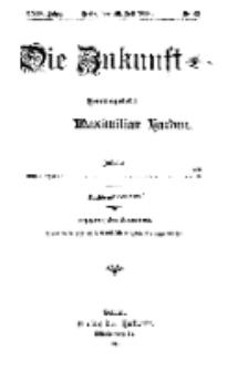 Die Zukunft, 29. Juli, Jahrg. XXIV, Bd. 96, Nr 43.