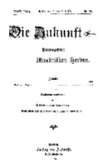 Die Zukunft, 5. August, Jahrg. XXIV, Bd. 96, Nr 44.
