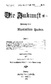 Die Zukunft, 12. August, Jahrg. XXIV, Bd. 96, Nr 45.