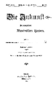 Die Zukunft, 26. August, Jahrg. XXIV, Bd. 96, Nr 47.
