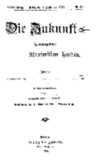 Die Zukunft, 2. September, Jahrg. XXIV, Bd. 96, Nr 48.