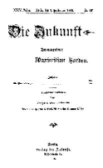 Die Zukunft, 9. September, Jahrg. XXIV, Bd. 96, Nr 49.
