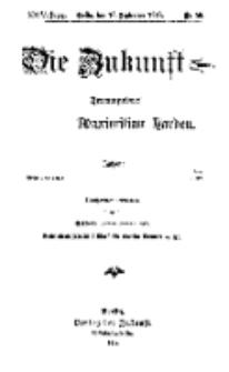 Die Zukunft, 16. September, Jahrg. XXIV, Bd. 96, Nr 50.